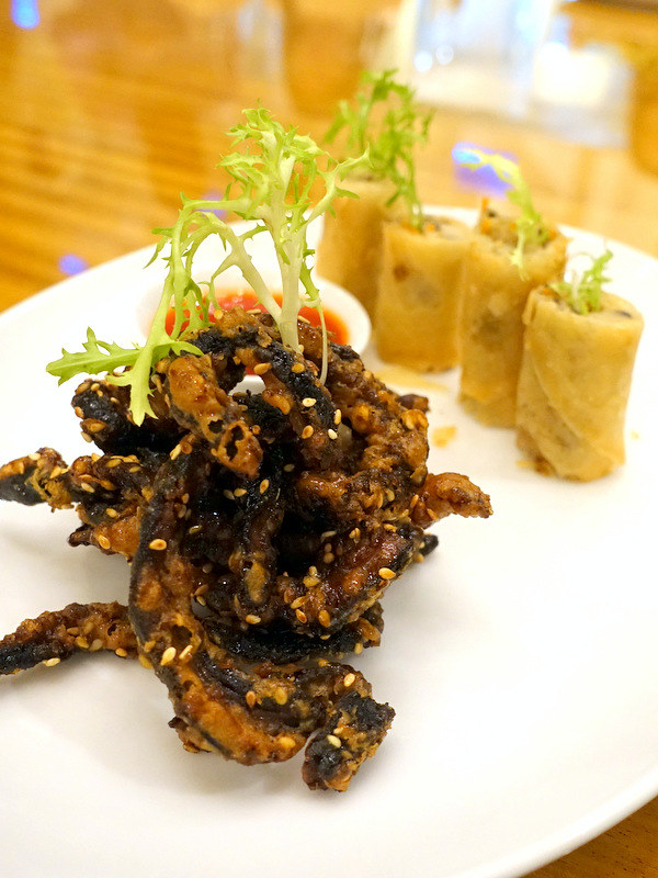 Conrad Manila's China Blue by Jereme Leung- Stir Fried Shiitake Mushrooms with Sweet Vinaigrette P360