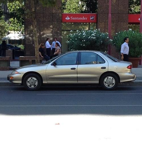 Chevrolet Cavalier - Santiago, Chile / siento que se ven poco hoy en día #Chevrolet #cars