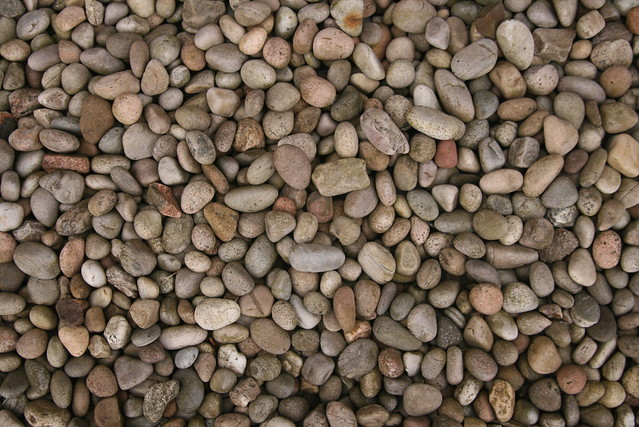 Pebbles for landscape architecture