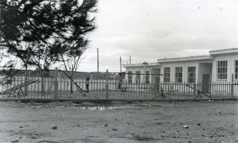 Escuelas Nacionales y Parque Infantil. Fotografía Antonio Moreno