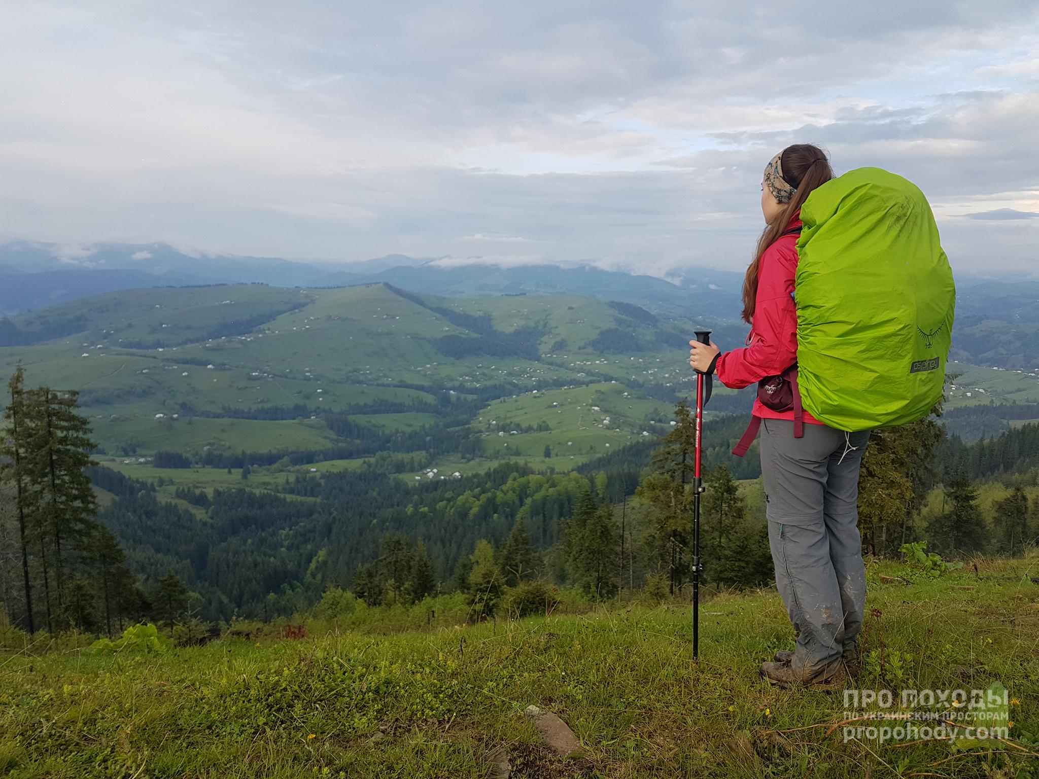 Гринявські гори. Вид з хребта Кринта