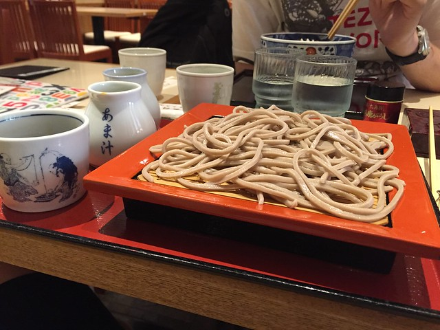 Japanese soba - Japan food guide