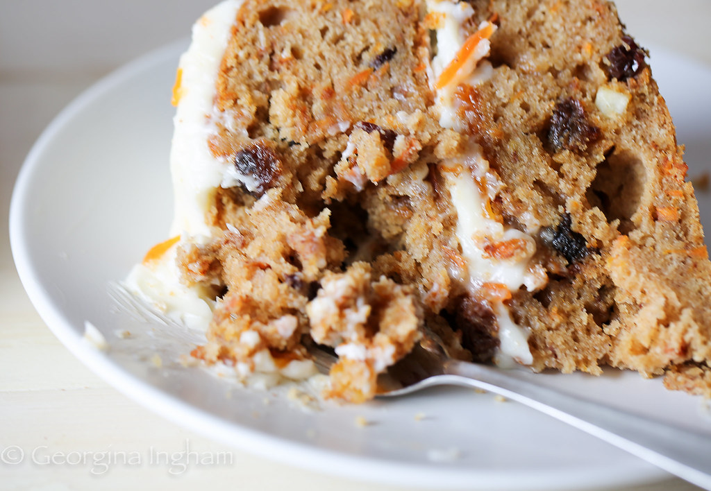 Georgina Ingham | Culinary Travels Photograph - Carrot Cake, The Ultimate