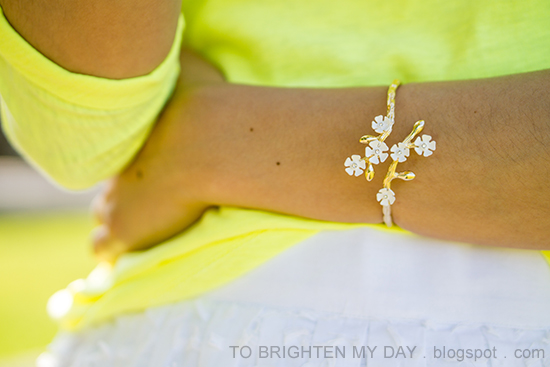 Banana Republic wildflower cuff