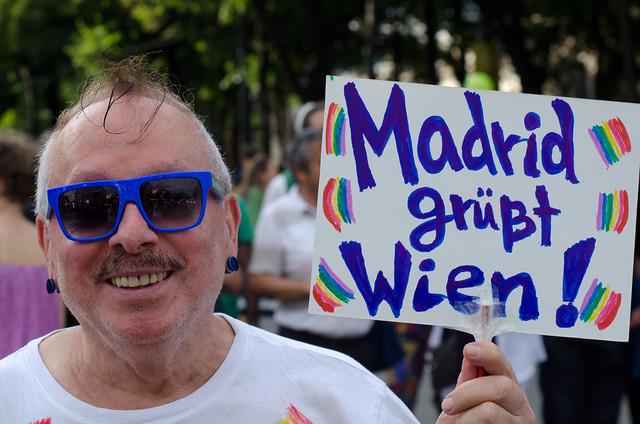 Regenbogenparade 2016