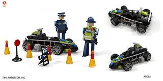 Ariel Atom - Police Community Vehicle