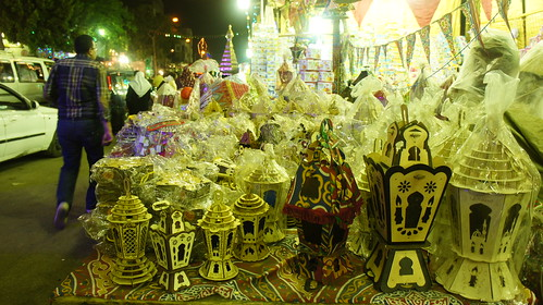 Wooden Egyptian Ramadan traditional lanterns
