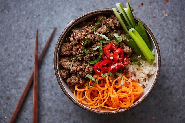 Grain-Free Thai Beef Bowls