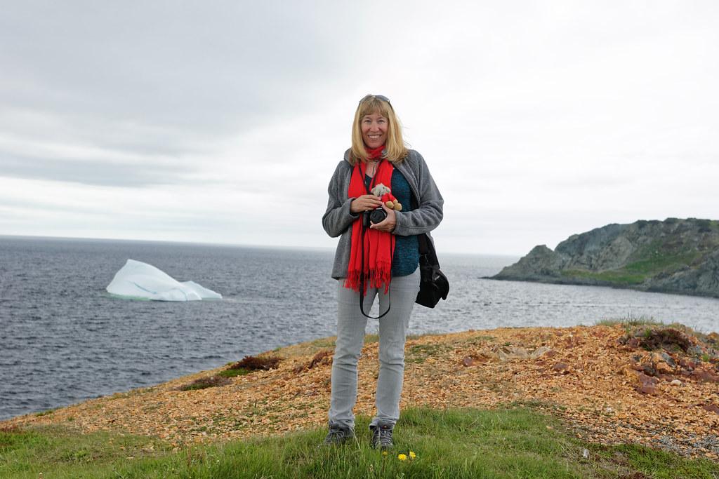 Cynthia w/Iceberg