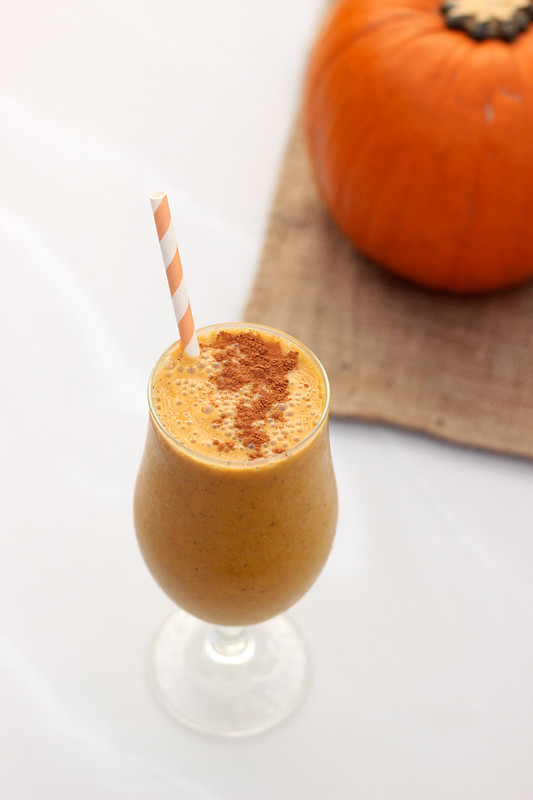 Pumpkin Chai Smoothie - Gluten-free, Vegan and Refined Sugar-free