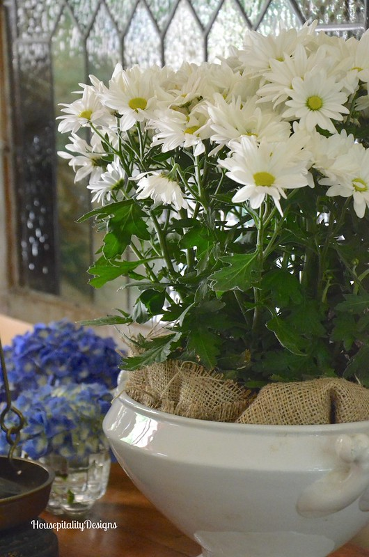 Daisies/Ironstone Tureen - Housepitality Designs