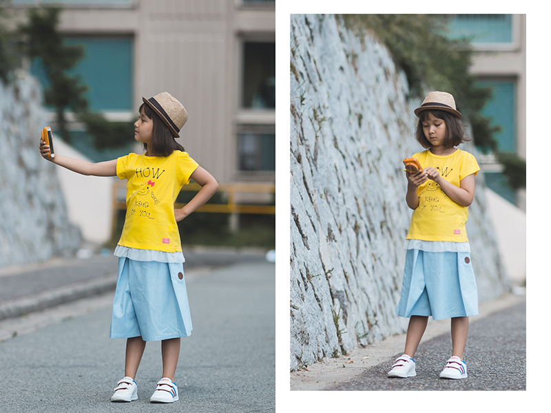 Olga Choi fashion blogger South Korea myblondegal Ольга Цой mini MBG kids fashion Adidas Kids sneakers Mango Kids culottes-05779