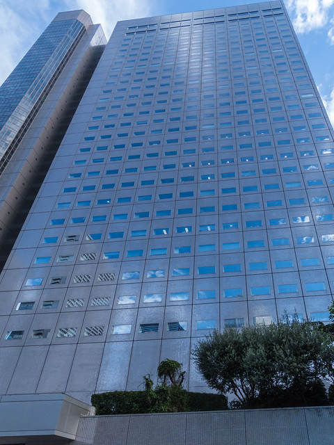 Shinjuku NS building overall view