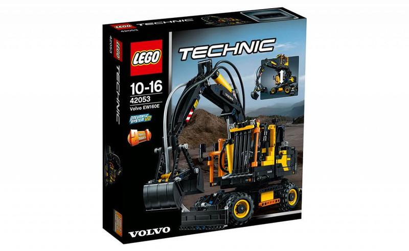 LEGO Technic Sets 2016: 42053 - Volvo EW160E