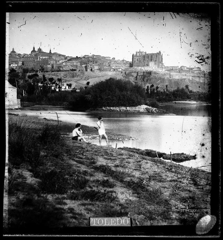 Toledo hacia 1864. Fotografía de Alfonso Begue © Fondo Rodríguez, Archivo Histórico Provincial, Junta de Comunidades de C-LM