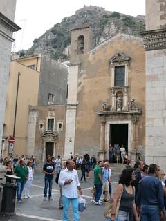 Taormina Santa Caterina Church