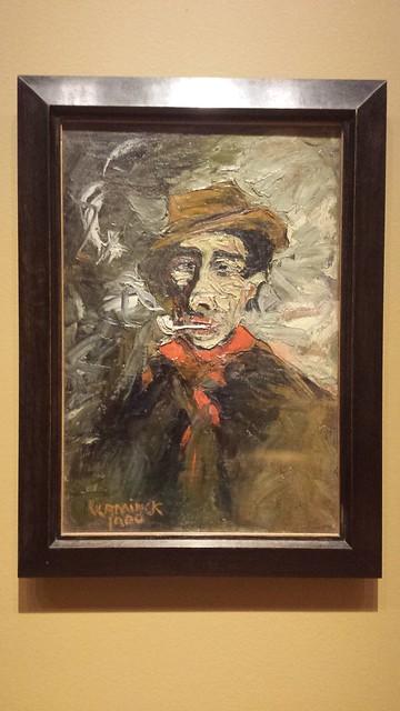 Portrait of Pere Bouju Maurice de Viaminck