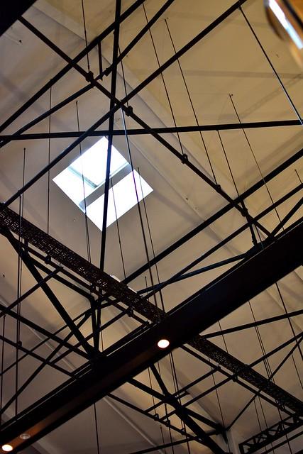 天王洲_t.y.harbor室内天井の写真