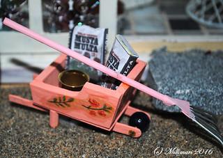 Kottikärryt - A wheelbarrow