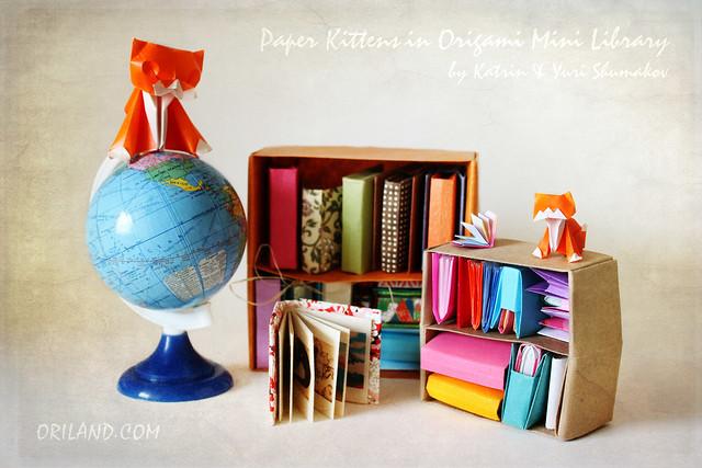 Origami Mini Library