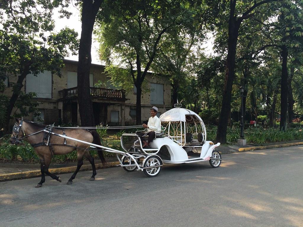 Calesa Ride in Fort Santiago