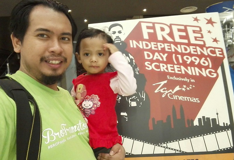 Independence Day Free Movie Screening at TGV Cinemas
