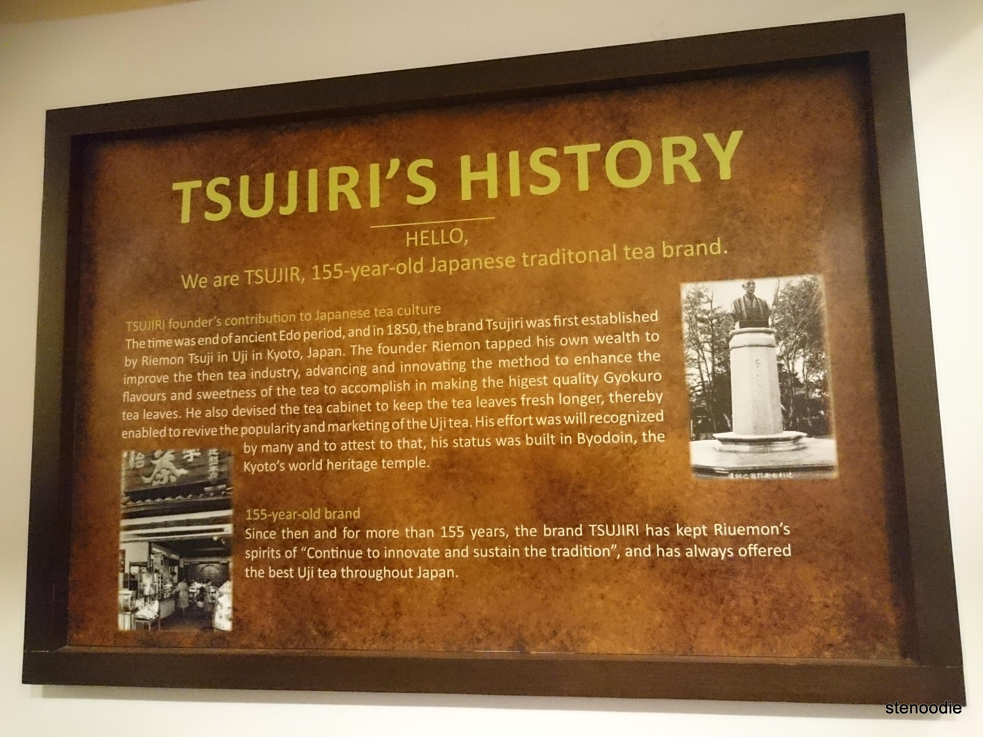 Tsujiri's history