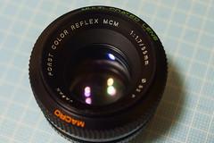 Porst Color Reflex MCM 55mm f 1.7 (Chinon MCM )