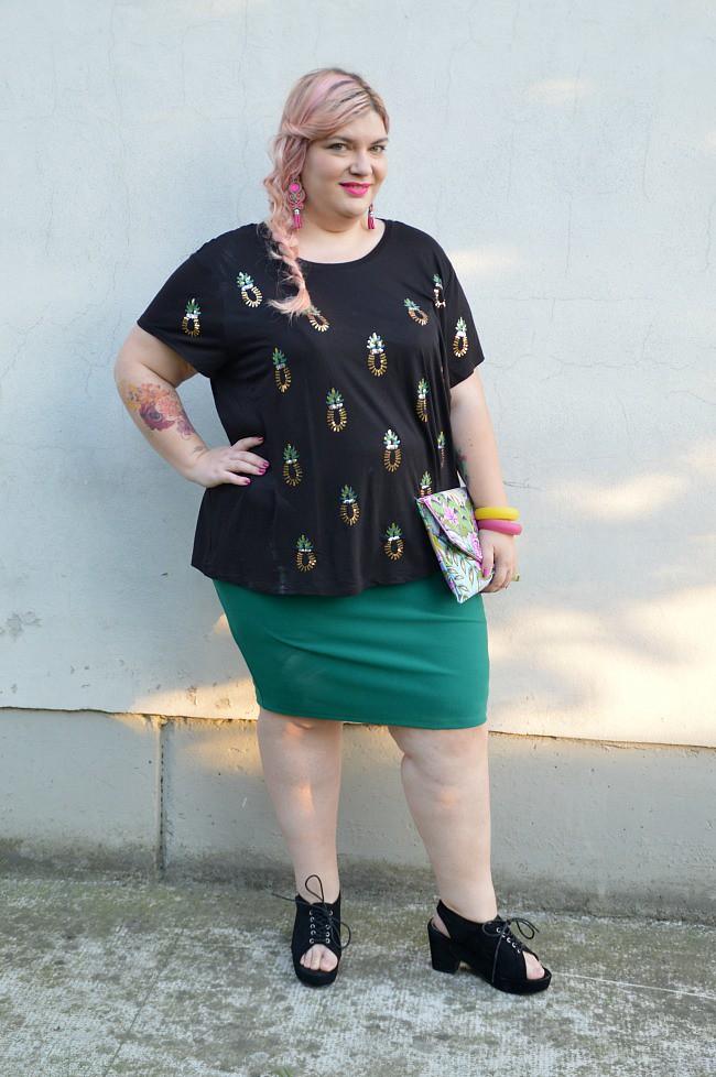 Outfit nero e verde (4)