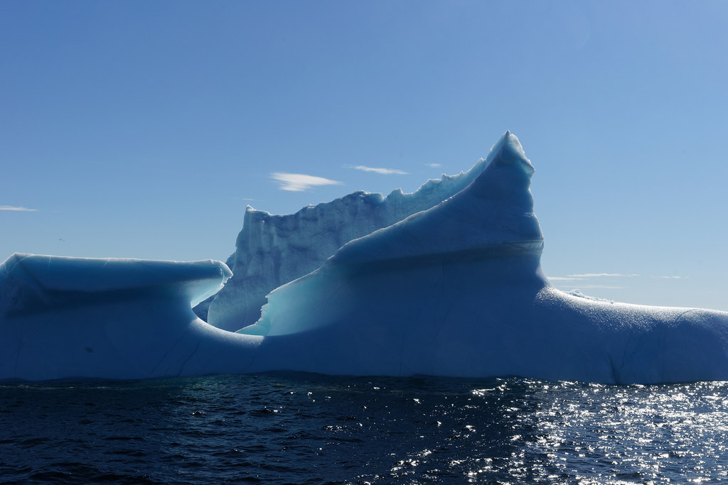 Icebergs In St. Anthony, Newfoundland
