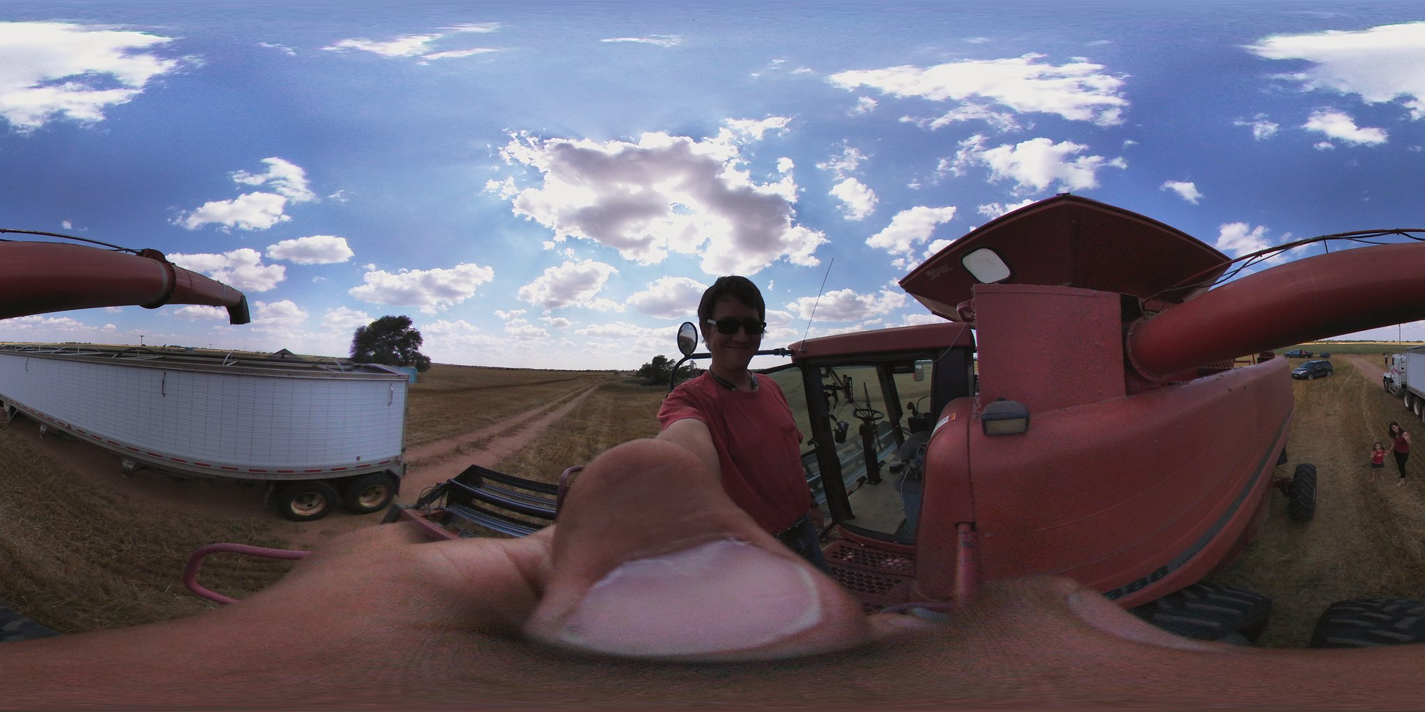 Harvest 2016 with the LG 360 cam #vzreview
