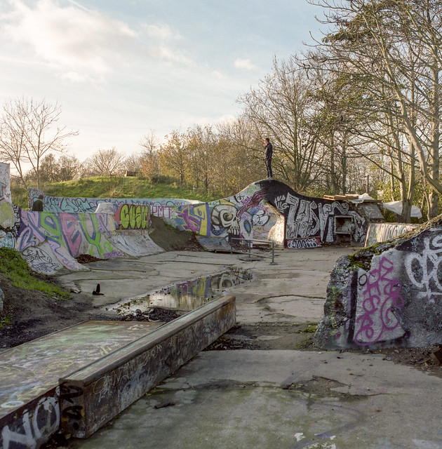 Graffiti Walls, 2004-present, Markfield Park, Haringey Council.