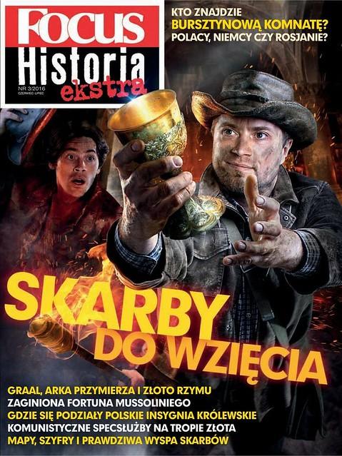 Focus Historia Ekstra 2016-03 Skarby do wzięcia