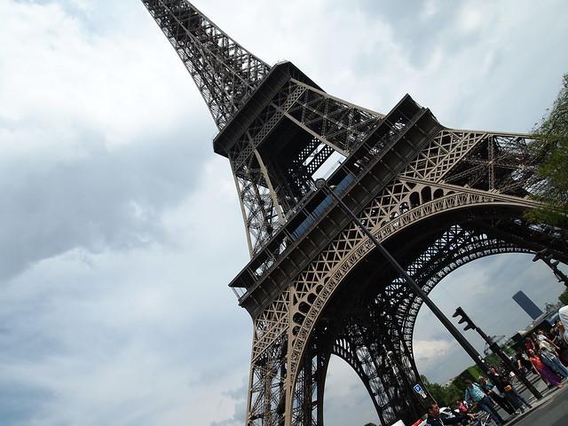 P5271754 エッフェル塔(La tour Eiffel) paris france パリ