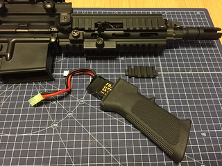 CYMA A2 style battery foregrip