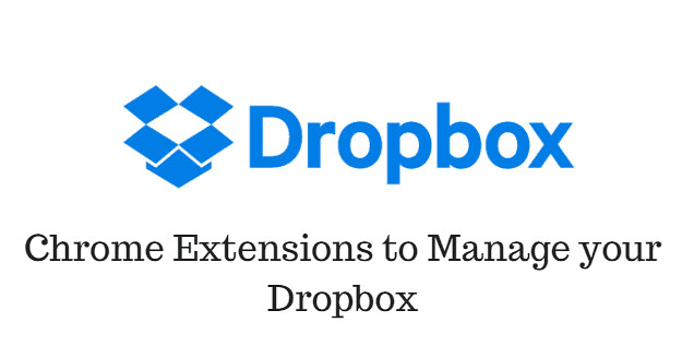 Chrome-Extensions-to-Manage-your-Dropbox