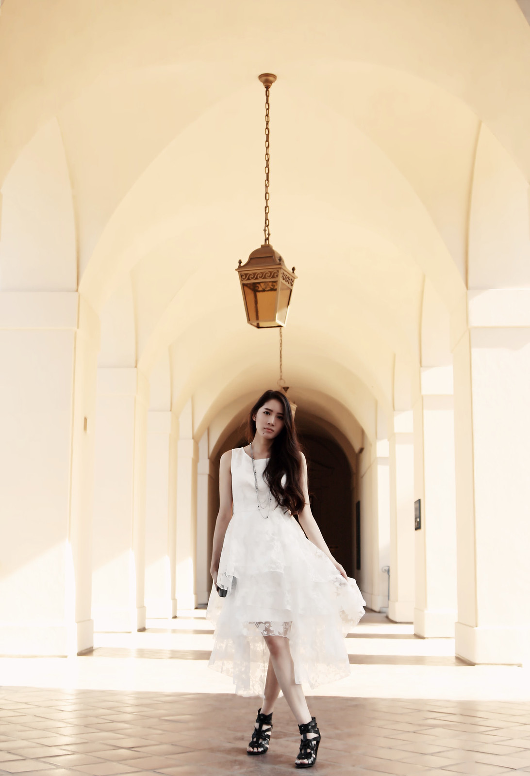 0240-modern-white-romance-midi-dress-chiffon-elegant-romantic-summer-korean-fashion