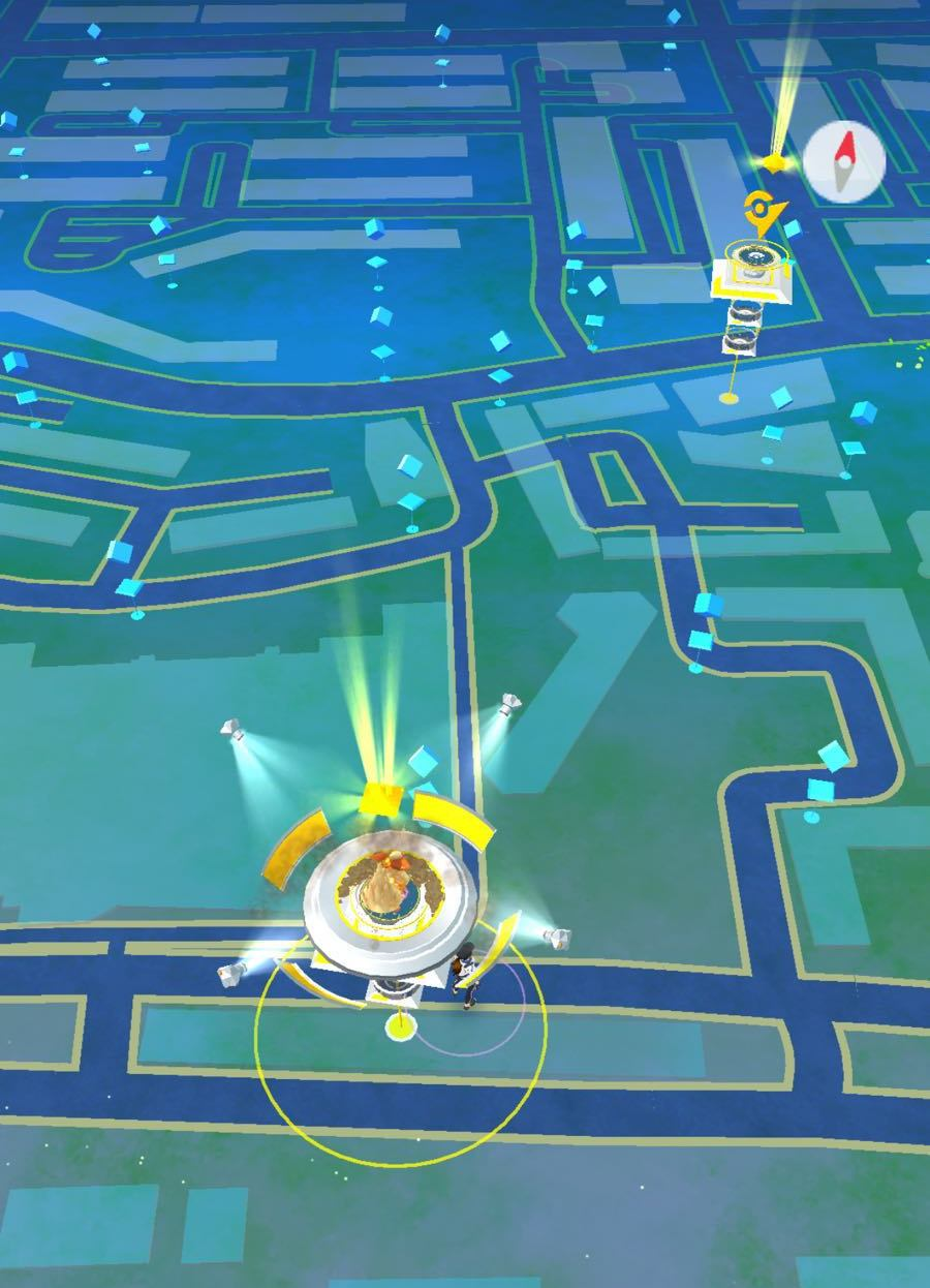 Pokemon Go Gyms near bedok mrt