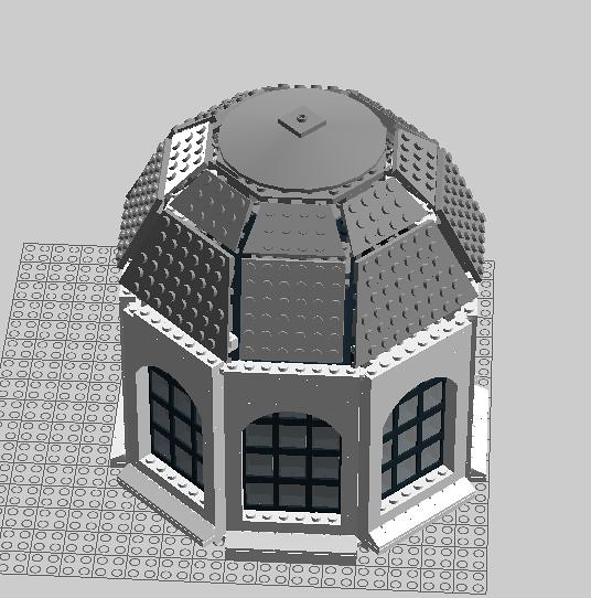 Building A Dome Roof Lego Digital Designer And Other