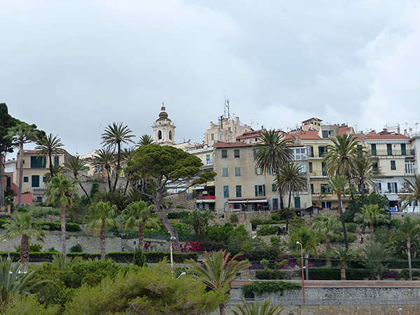 la vieille ville de Bordighera