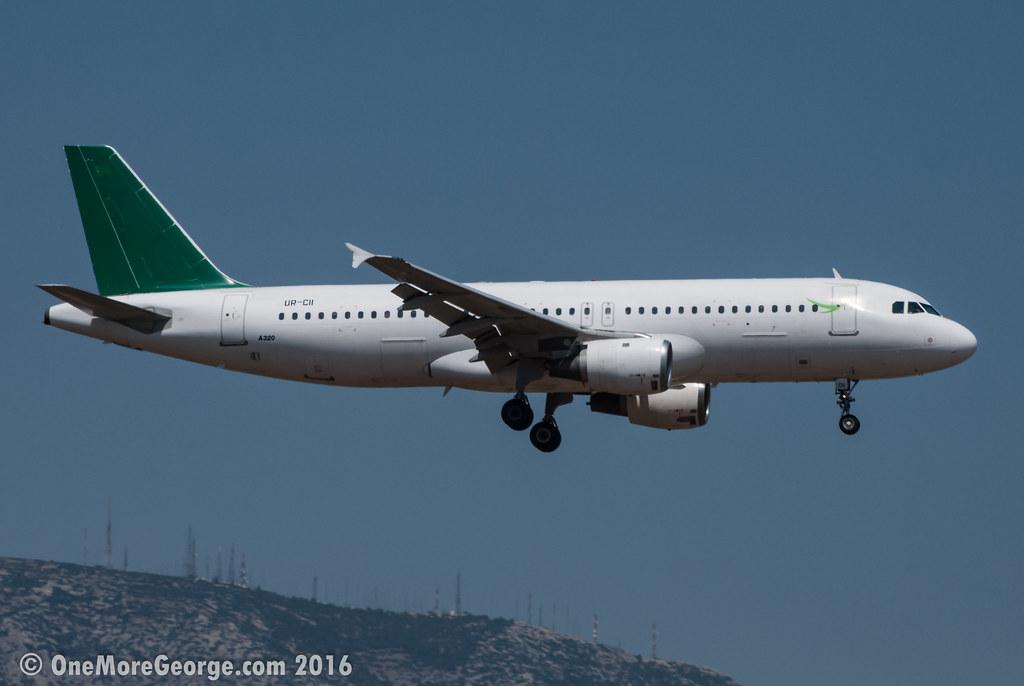 LGAV I 01.07.2016 I Airbus A320-211 I UR-CII