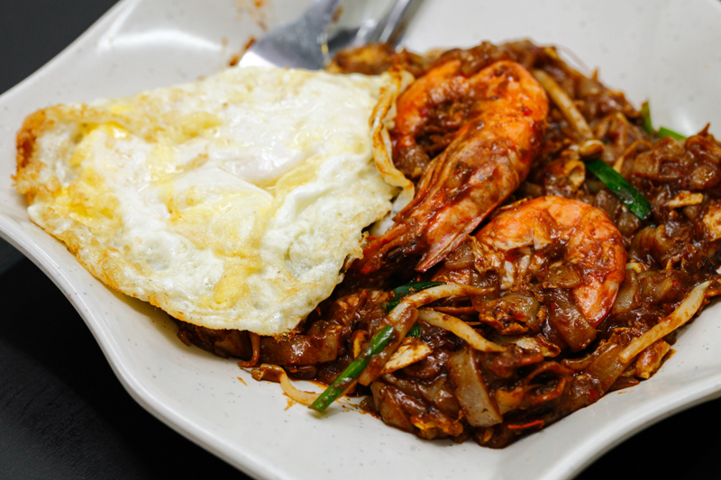 Koay Teow Goreng with Egg