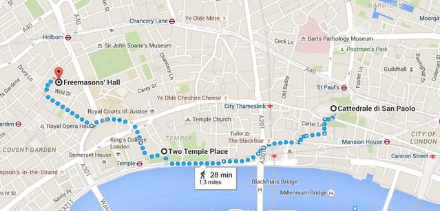 Schermata 3 luoghi di Londra