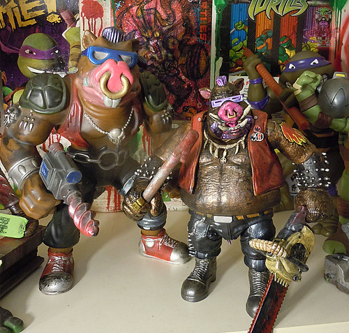 "tOkKustom :: NEW CLASSIC 'FOOT' Trio :: BEBOP ix / ..with TMNT 'GIANT BAD BOYS' 13"" BEBOP 1990"
