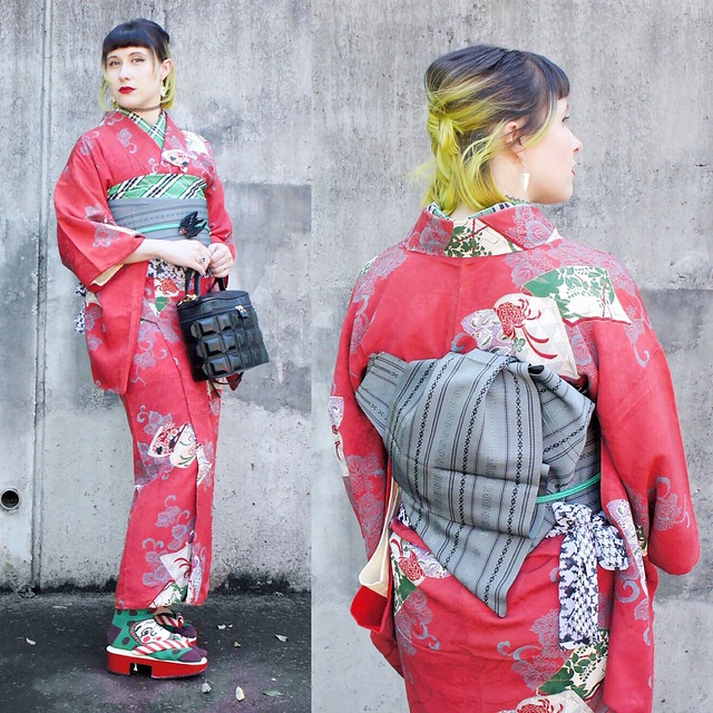 Kimono meet up Tokyo
