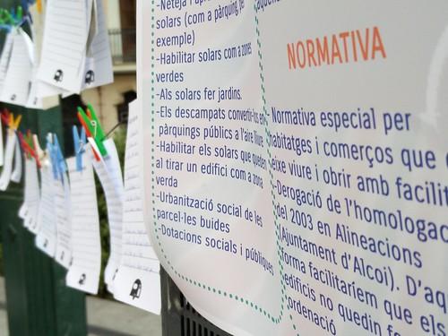 Devolució del projecte de participació ciutadana per revitalitzar el Centre d'Alcoi