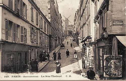 la rue Tholozé