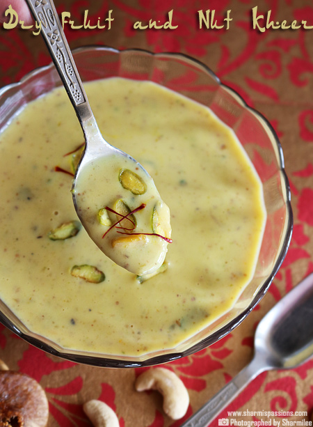 Dry Fruits and Nuts Kheer