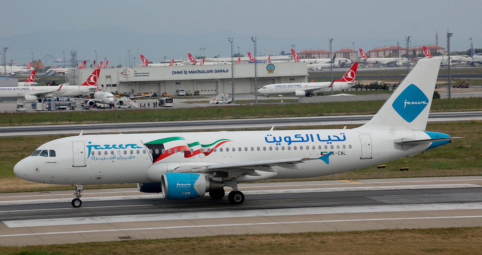 Istanbul (1166)  9K-CAL A320----Jazeera