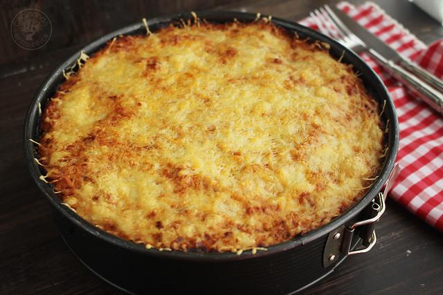 Pastel de macarrones con atún y tomate www.cocinandoentreolivos.com (9)